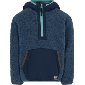 LEGO wear Lwsky 710 Pullover in pile Sherpa Bambino, blu